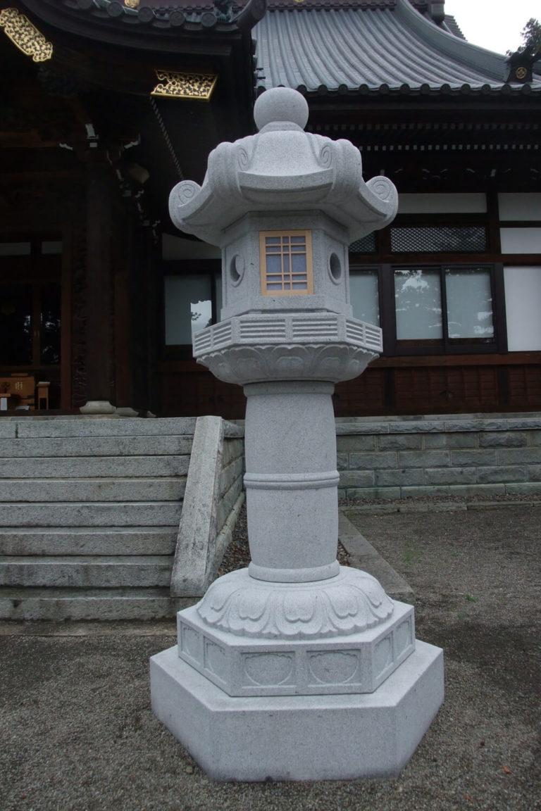 頼岳寺灯篭